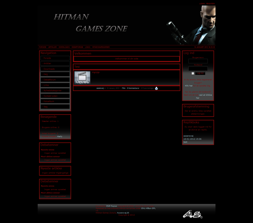 Hitman Games Zone